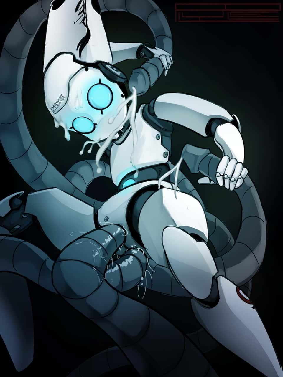 hentai cyborg Android cyberpunk 272 - 【二次】サイボーグやアンドロイドのエロ画像:イラスト その8