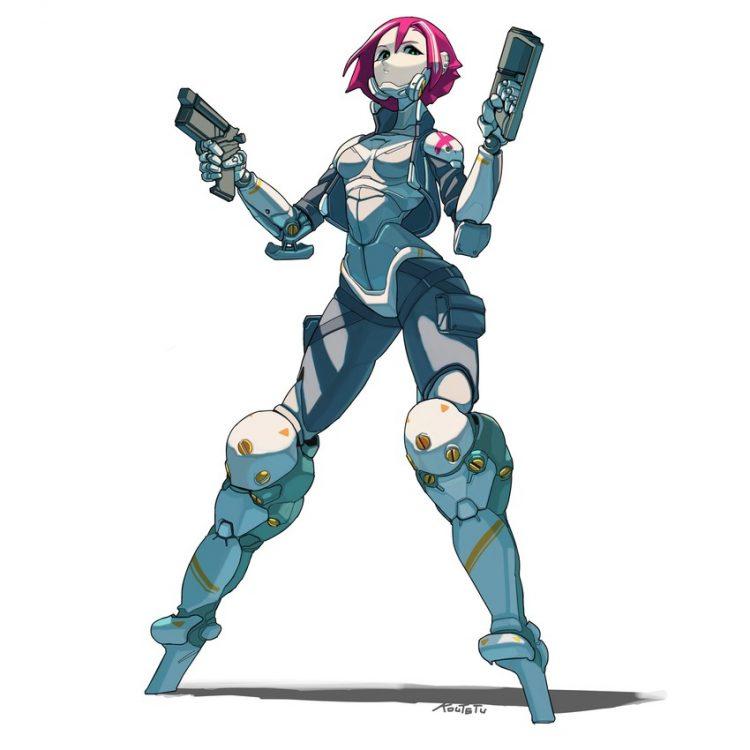 hentai cyborg Android cyberpunk 28 - 【二次】サイボーグやアンドロイドのエロ画像:イラスト