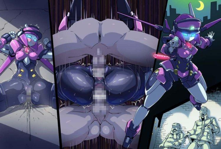 hentai cyborg Android cyberpunk 280 - 【二次】サイボーグやアンドロイドのエロ画像:イラスト その8