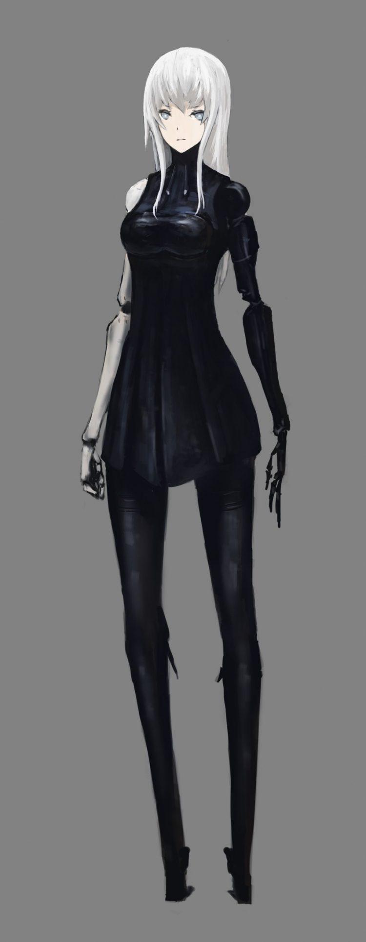 hentai cyborg Android cyberpunk 4 - 【二次】サイボーグやアンドロイドのエロ画像:イラスト