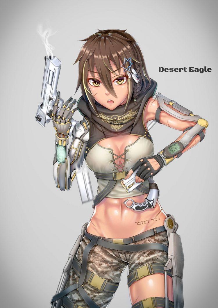 hentai cyborg Android cyberpunk 7 - 【二次】サイボーグやアンドロイドのエロ画像:イラスト