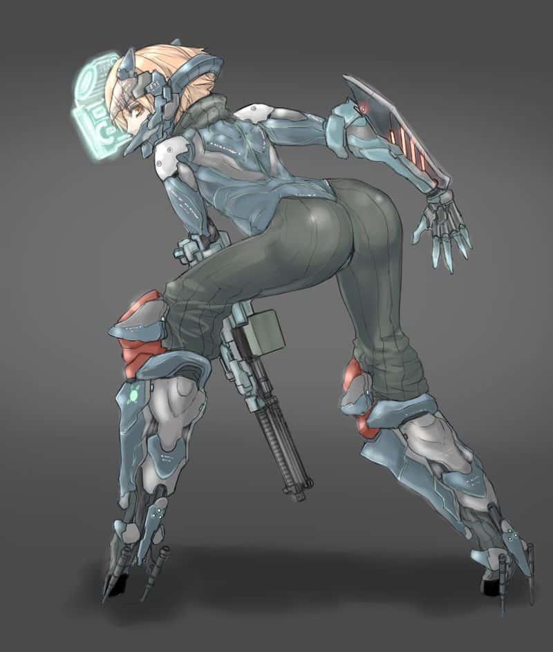 hentai cyborg Android cyberpunk 71 - 【二次】サイボーグやアンドロイドのエロ画像:イラスト その3