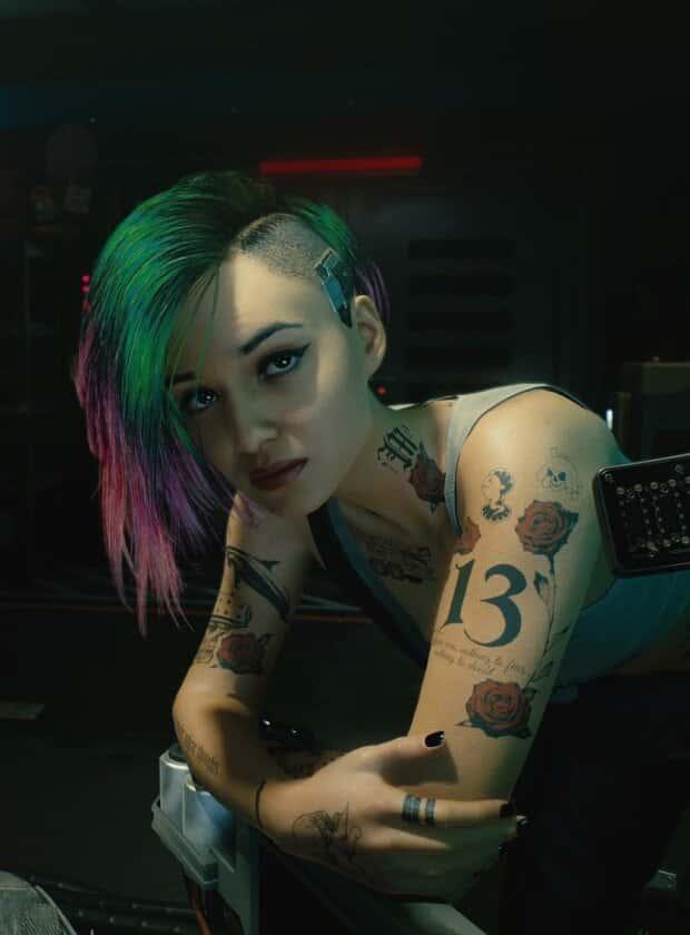hentai judy cyberpunk 20774 - 【ゲーム】「サイバーパンク2077」のエロ画像:イラスト
