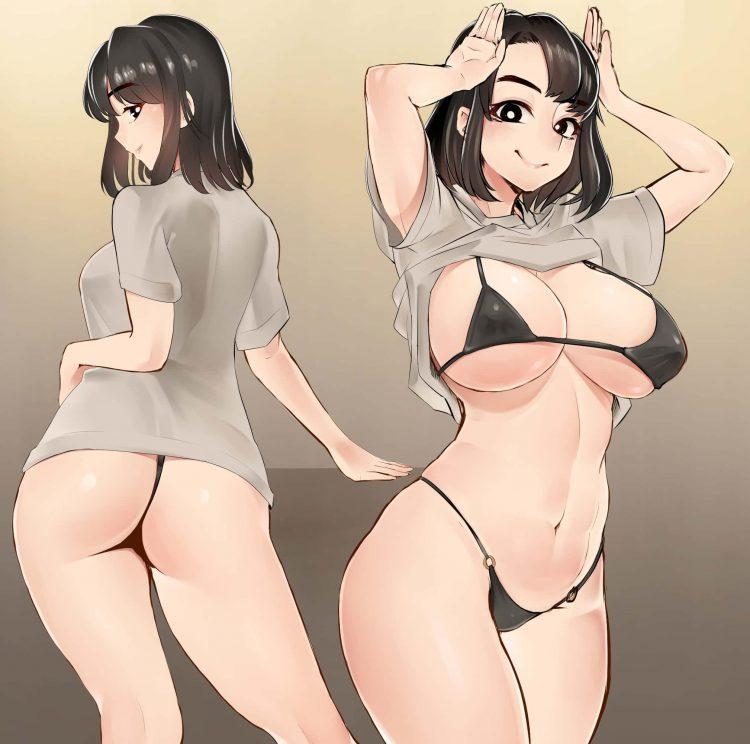 hentaim 2くいこみ110 - 【二次】お股のくいこみのエロ画像:イラスト その14