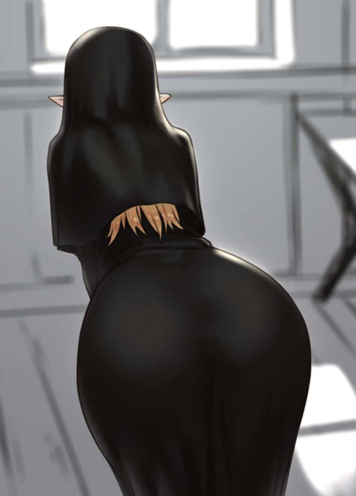hentaim お尻 美少女69 - 【フェチ】お尻に目がいく美少女のエロ画像:イラスト その15
