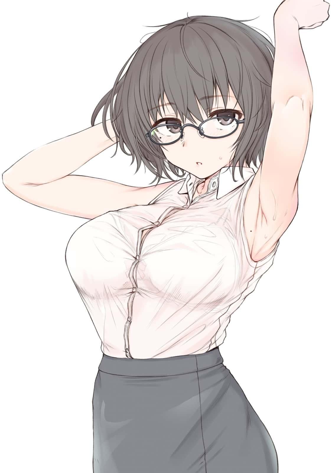 hentaim メガネ 美少女131 - 【フェチ】メガネ美少女ちゃんのエロ画像:イラスト その4
