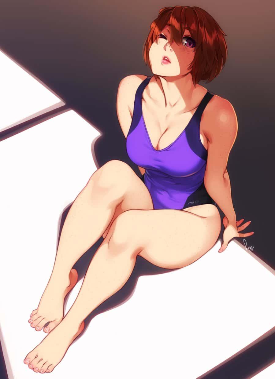hentaim 少女 水着101 - 【二次】水着の美少女のエロ画像:イラスト その13