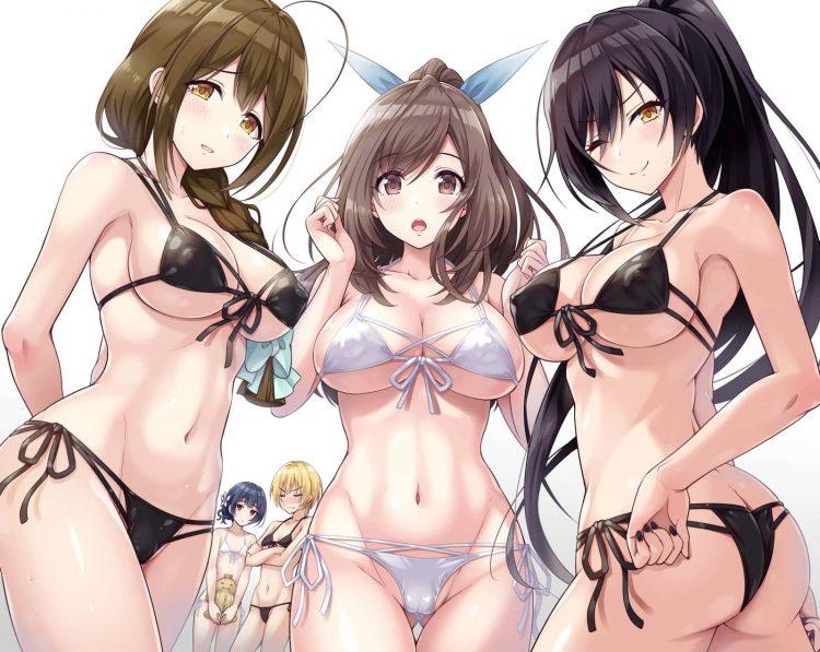 hentaim 少女 水着218 - 【二次】水着の美少女のエロ画像:イラスト その17