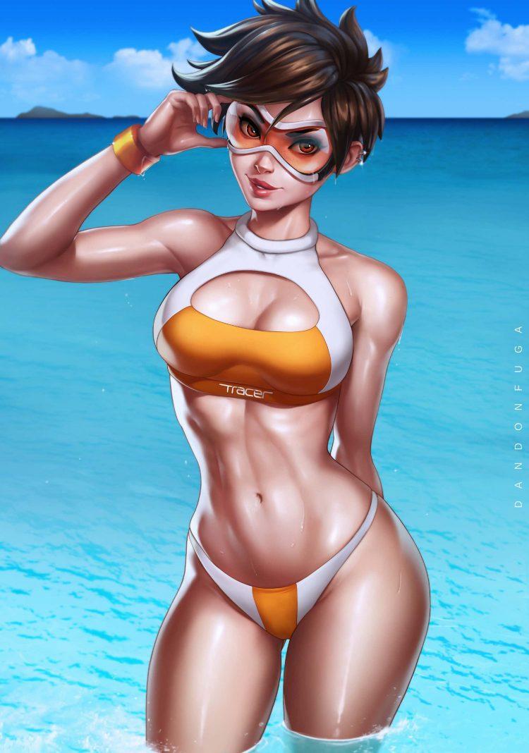 hentaim 水着ガール270 - 【二次】水着の美少女のエロ画像:イラスト その28