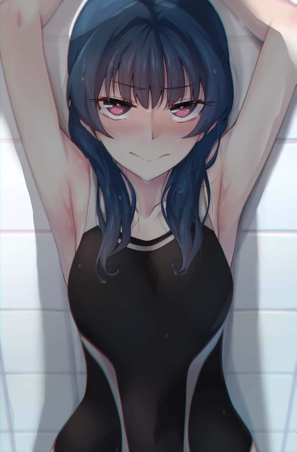 hentaim 水着ガール38 - 【二次】水着の美少女のエロ画像:イラスト その22