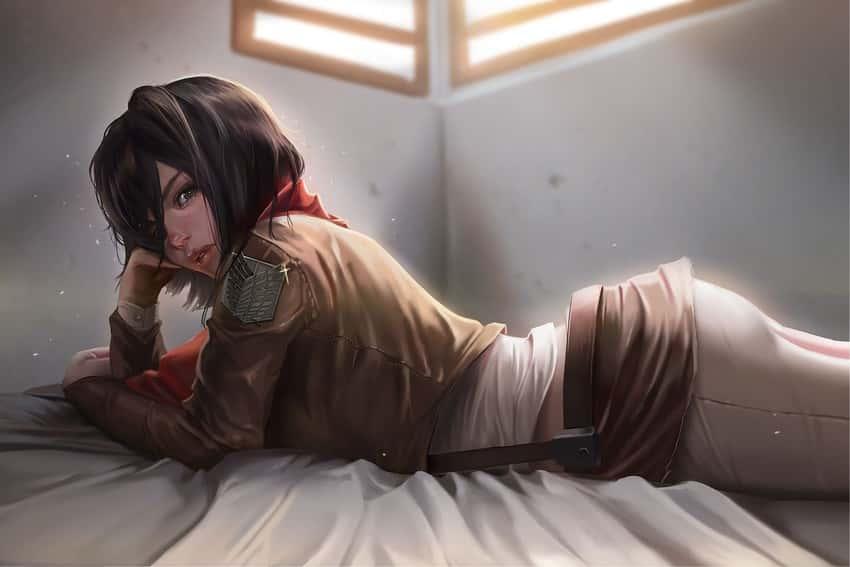 mikasa ackerman shingeki no kyojin117 - 【進撃の巨人】ミカサ・アッカーマンのエロ画像:イラスト その4