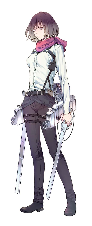 mikasa ackerman shingeki no kyojin207 - 【進撃の巨人】ミカサ・アッカーマンのエロ画像:イラスト その6