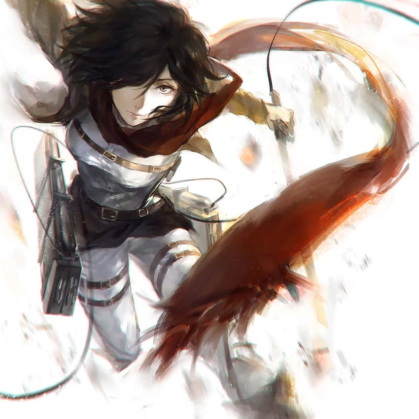 mikasa ackerman shingeki no kyojin245 - 【進撃の巨人】ミカサ・アッカーマンのエロ画像:イラスト その7