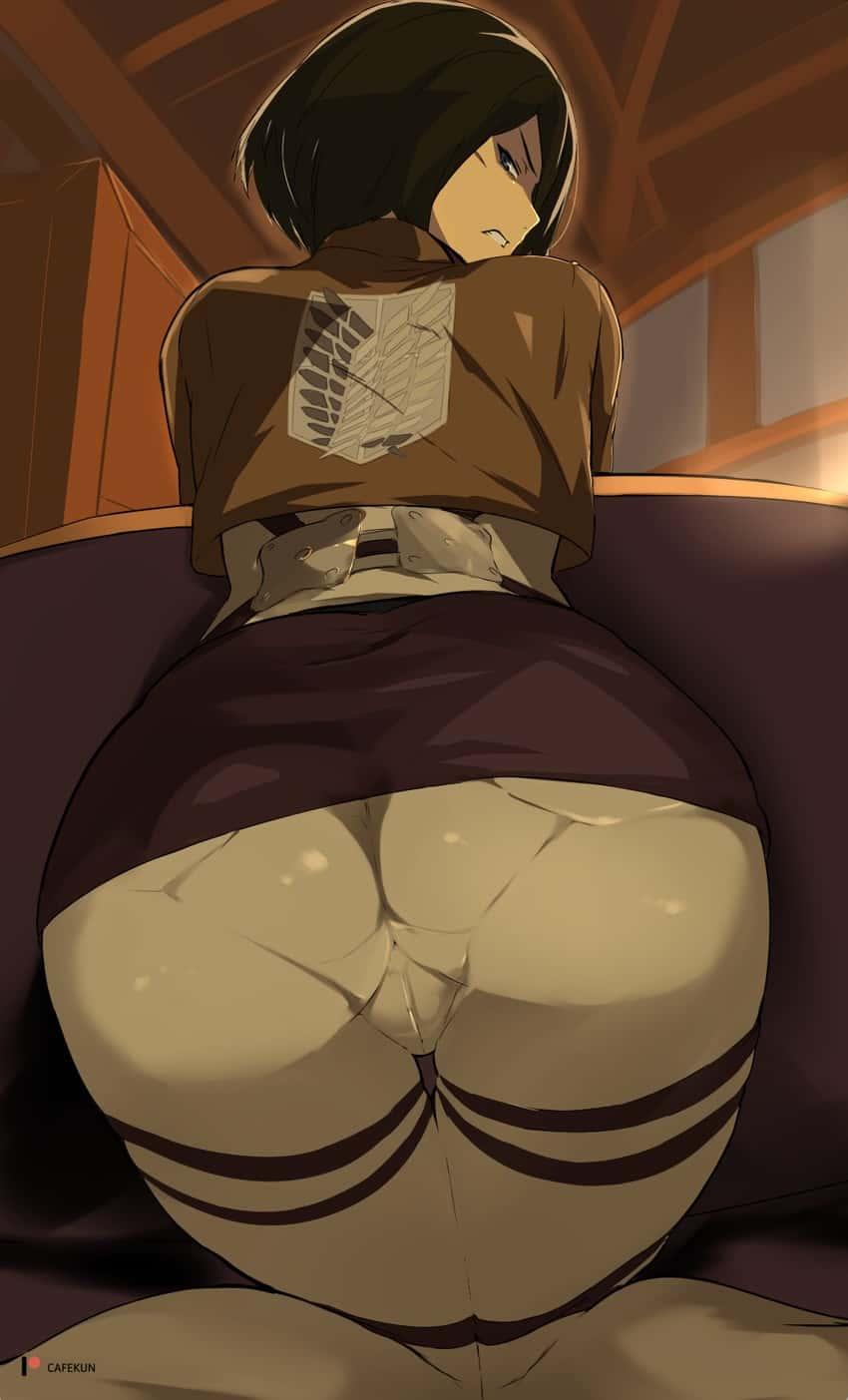 mikasa ackerman shingeki no kyojin80 - 【進撃の巨人】ミカサ・アッカーマンのエロ画像:イラスト その3