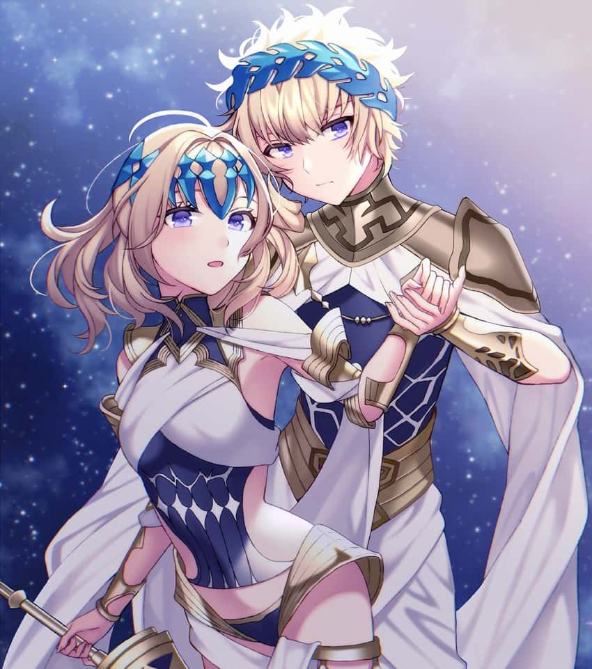 pollux and castor fate10 - 【Fate】ポルクスのエロ画像:イラスト