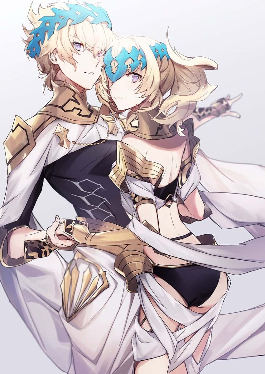pollux and castor fate15 - 【Fate】ポルクスのエロ画像:イラスト