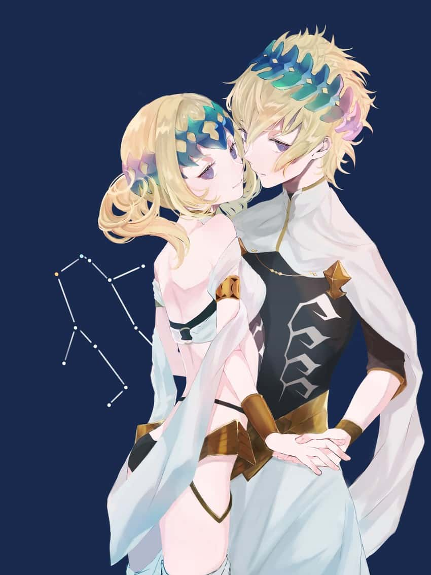 pollux and castor fate9 - 【Fate】ポルクスのエロ画像:イラスト