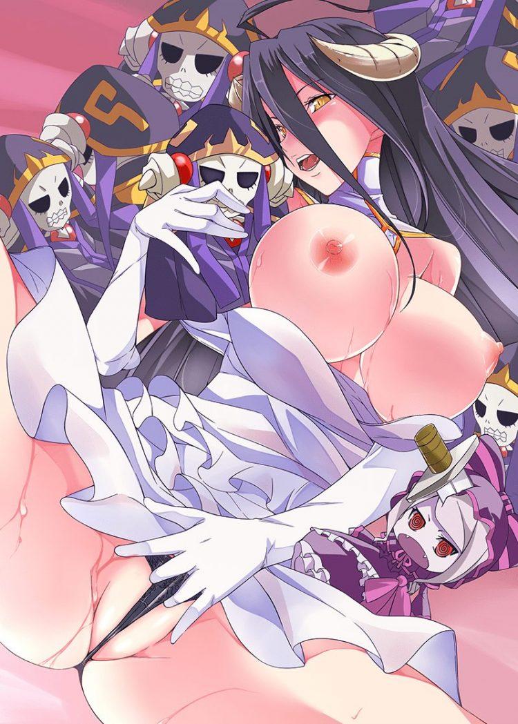 albedo overlord1 - 【オーバーロード】アルベドのエロ画像:イラスト