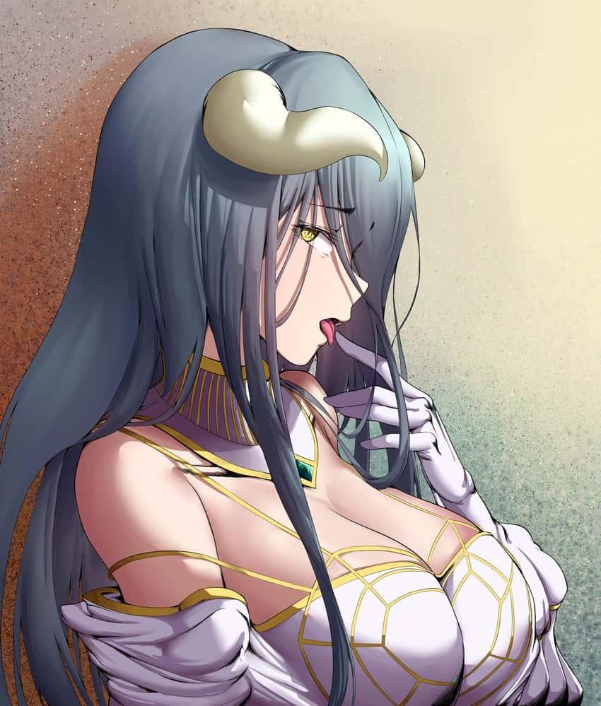 albedo overlord109 - 【オーバーロード】アルベドのエロ画像:イラスト その3