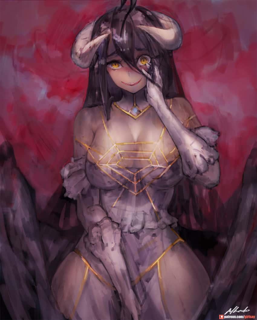 albedo overlord142 - 【オーバーロード】アルベドのエロ画像:イラスト その4