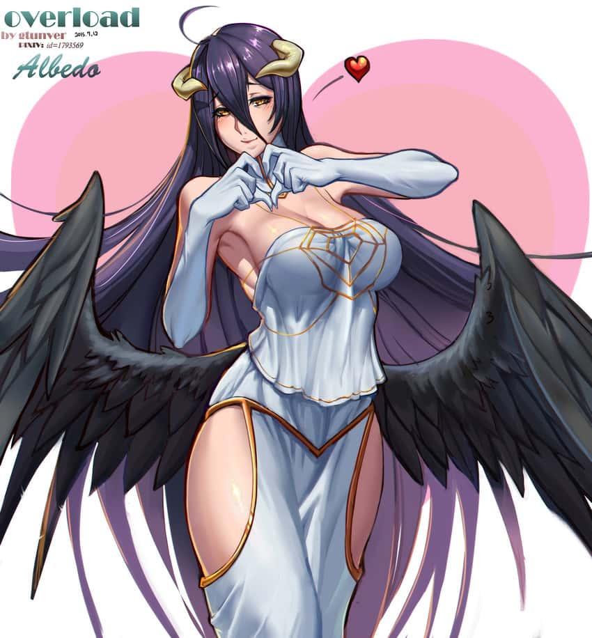 albedo overlord143 - 【オーバーロード】アルベドのエロ画像:イラスト その4