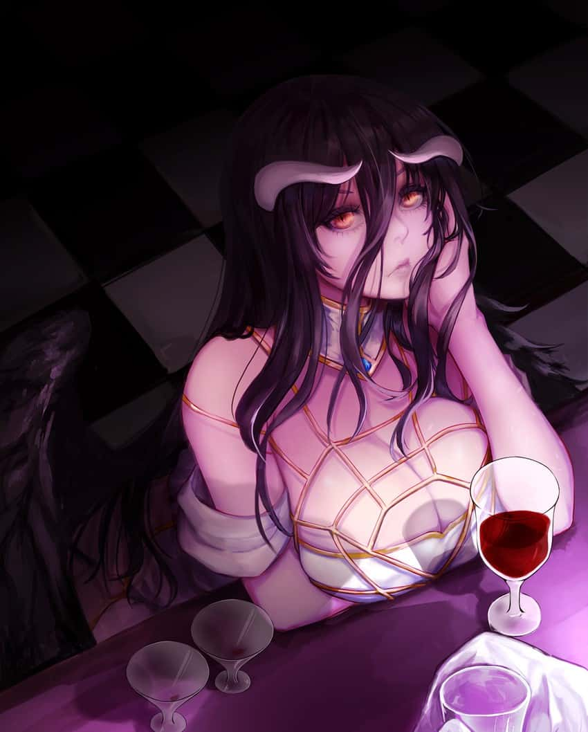 albedo overlord194 - 【オーバーロード】アルベドのエロ画像:イラスト その6