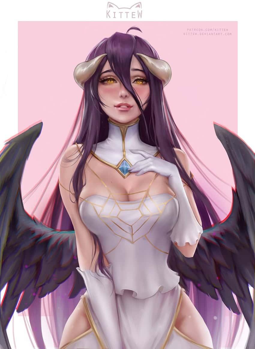 albedo overlord201 - 【オーバーロード】アルベドのエロ画像:イラスト その6