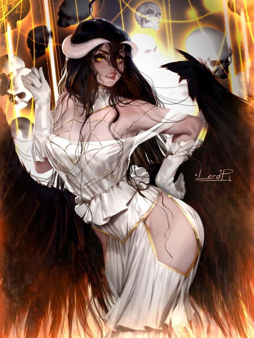 albedo overlord216 - 【オーバーロード】アルベドのエロ画像:イラスト その7