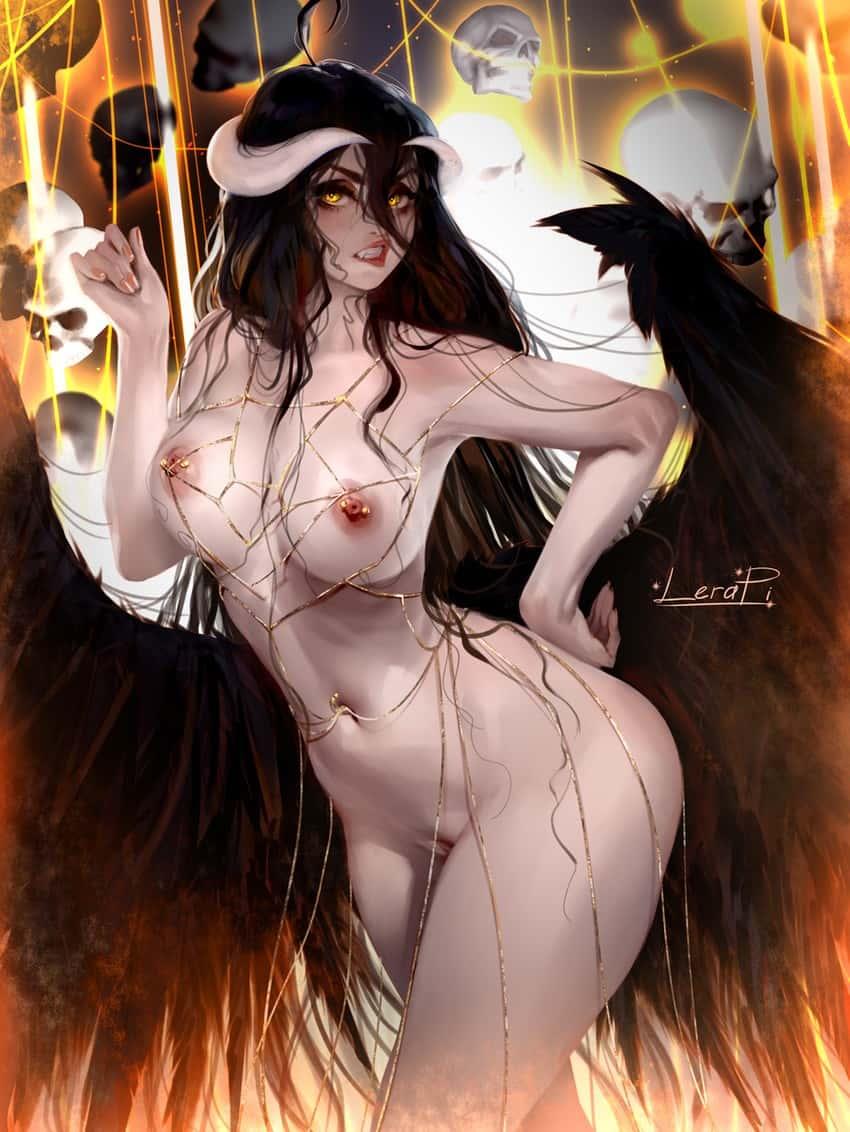 albedo overlord217 - 【オーバーロード】アルベドのエロ画像:イラスト その7