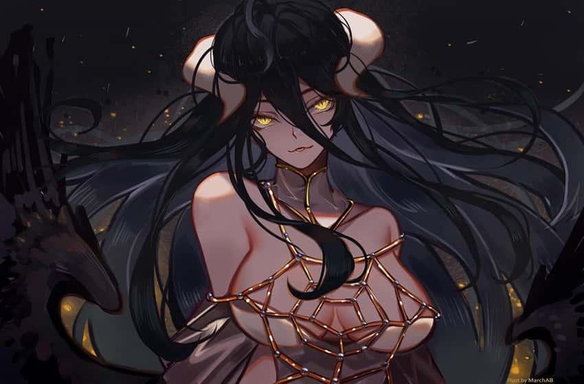 albedo overlord236 - 【オーバーロード】アルベドのエロ画像:イラスト その7
