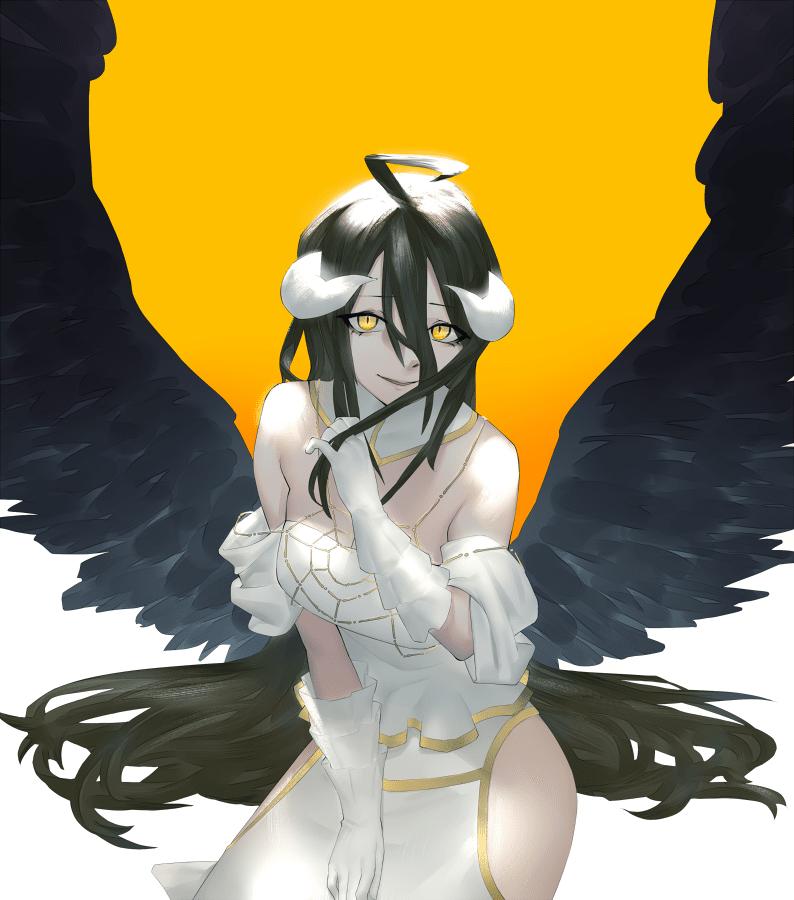 albedo overlord237 - 【オーバーロード】アルベドのエロ画像:イラスト その7