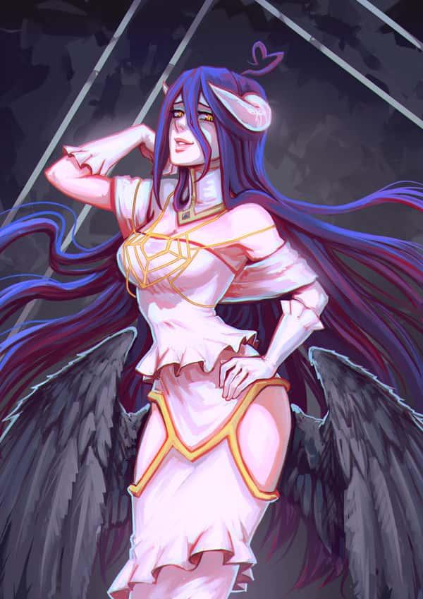albedo overlord251 - 【オーバーロード】アルベドのエロ画像:イラスト その8
