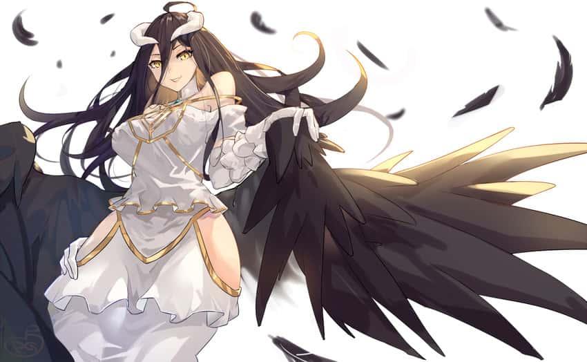 albedo overlord252 - 【オーバーロード】アルベドのエロ画像:イラスト その8