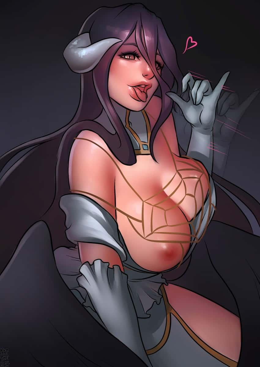 albedo overlord260 - 【オーバーロード】アルベドのエロ画像:イラスト その8