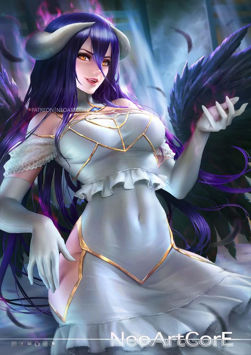albedo overlord262 - 【オーバーロード】アルベドのエロ画像:イラスト その8