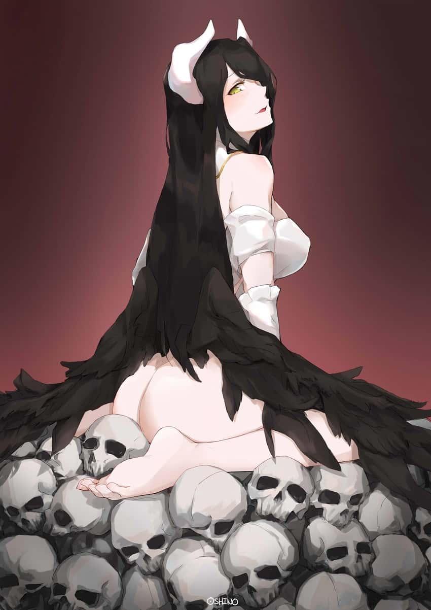 albedo overlord275 - 【オーバーロード】アルベドのエロ画像:イラスト その8