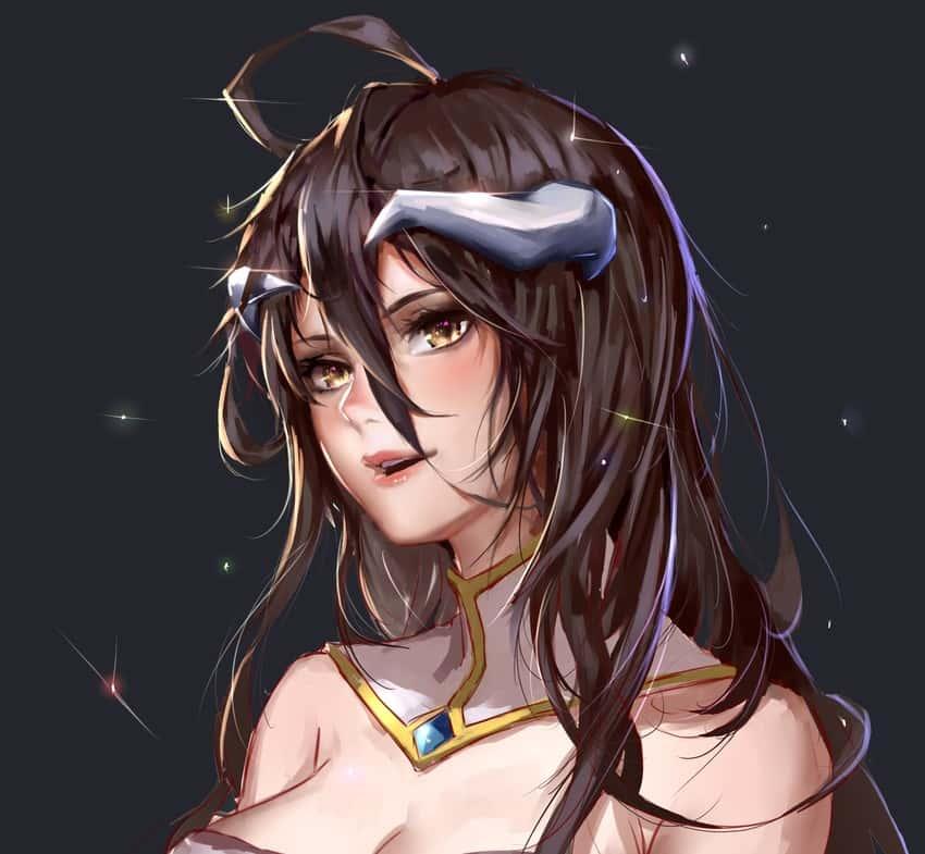 albedo overlord278 - 【オーバーロード】アルベドのエロ画像:イラスト その8