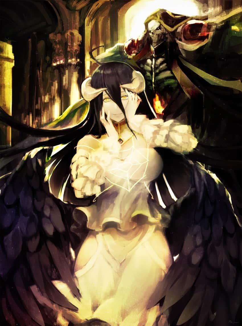 albedo overlord28 - 【オーバーロード】アルベドのエロ画像:イラスト