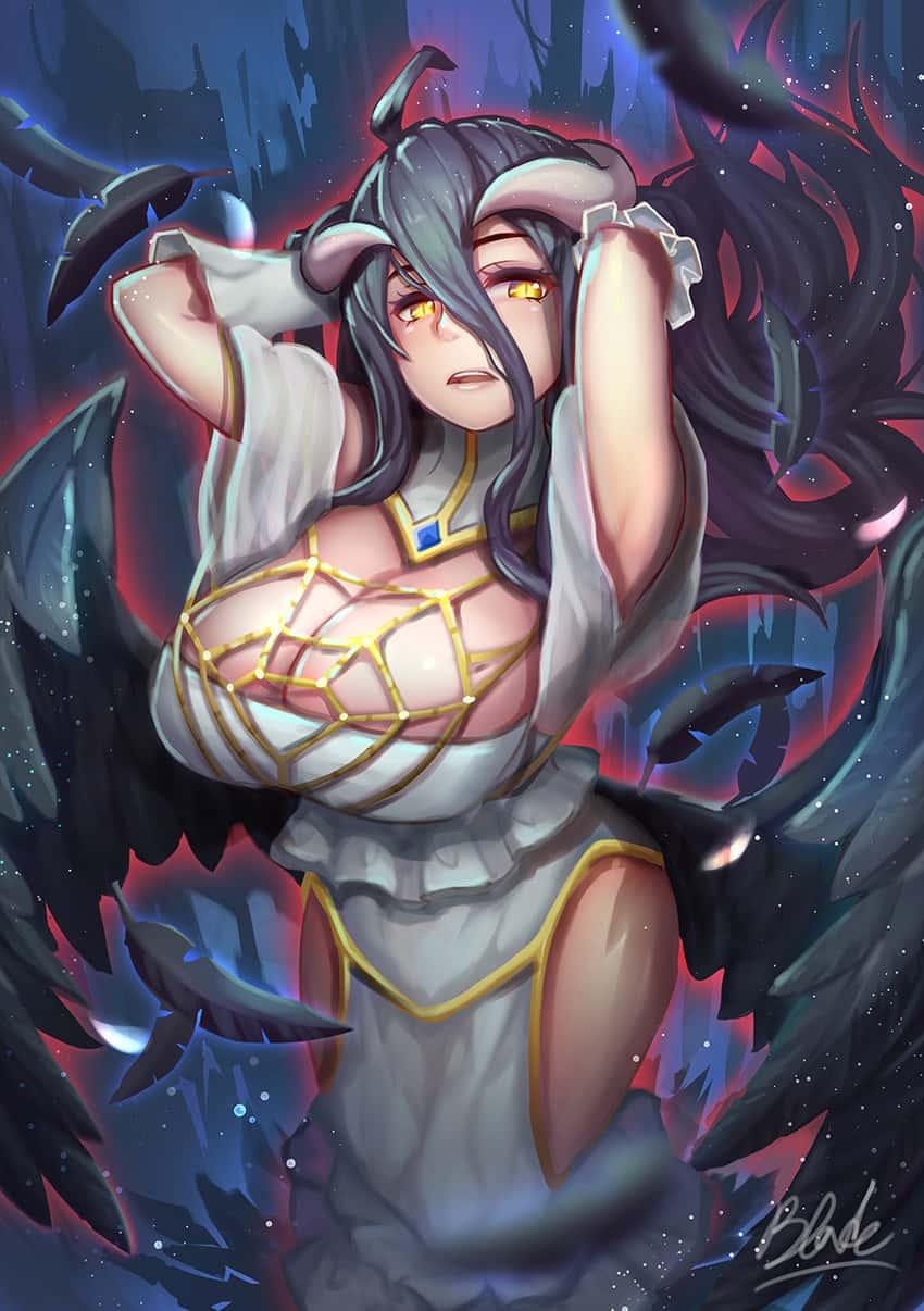 albedo overlord286 - 【オーバーロード】アルベドのエロ画像:イラスト その9