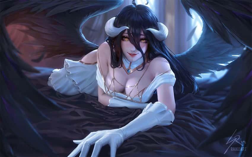 albedo overlord289 - 【オーバーロード】アルベドのエロ画像:イラスト その9