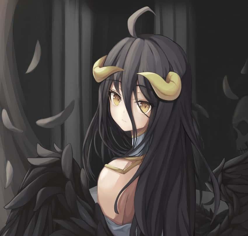 albedo overlord290 - 【オーバーロード】アルベドのエロ画像:イラスト その9