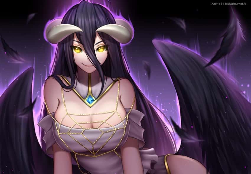 albedo overlord297 - 【オーバーロード】アルベドのエロ画像:イラスト その9