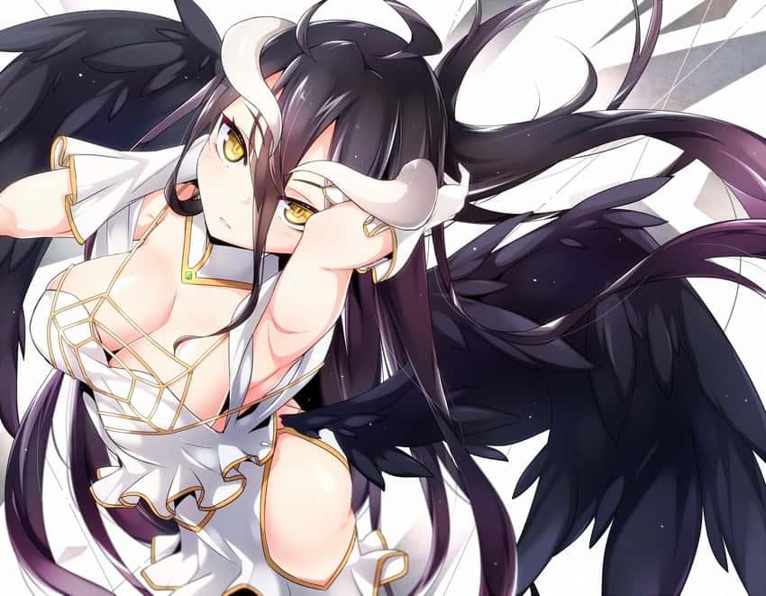 albedo overlord300 - 【オーバーロード】アルベドのエロ画像:イラスト その9