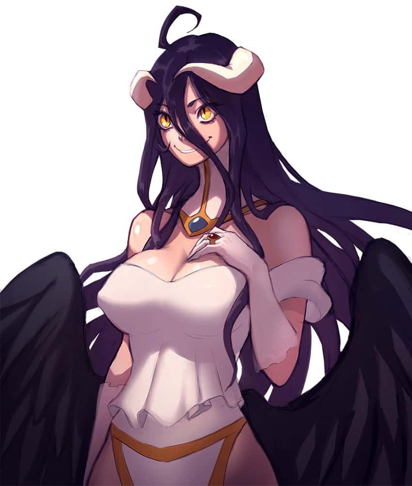 albedo overlord313 - 【オーバーロード】アルベドのエロ画像:イラスト その9
