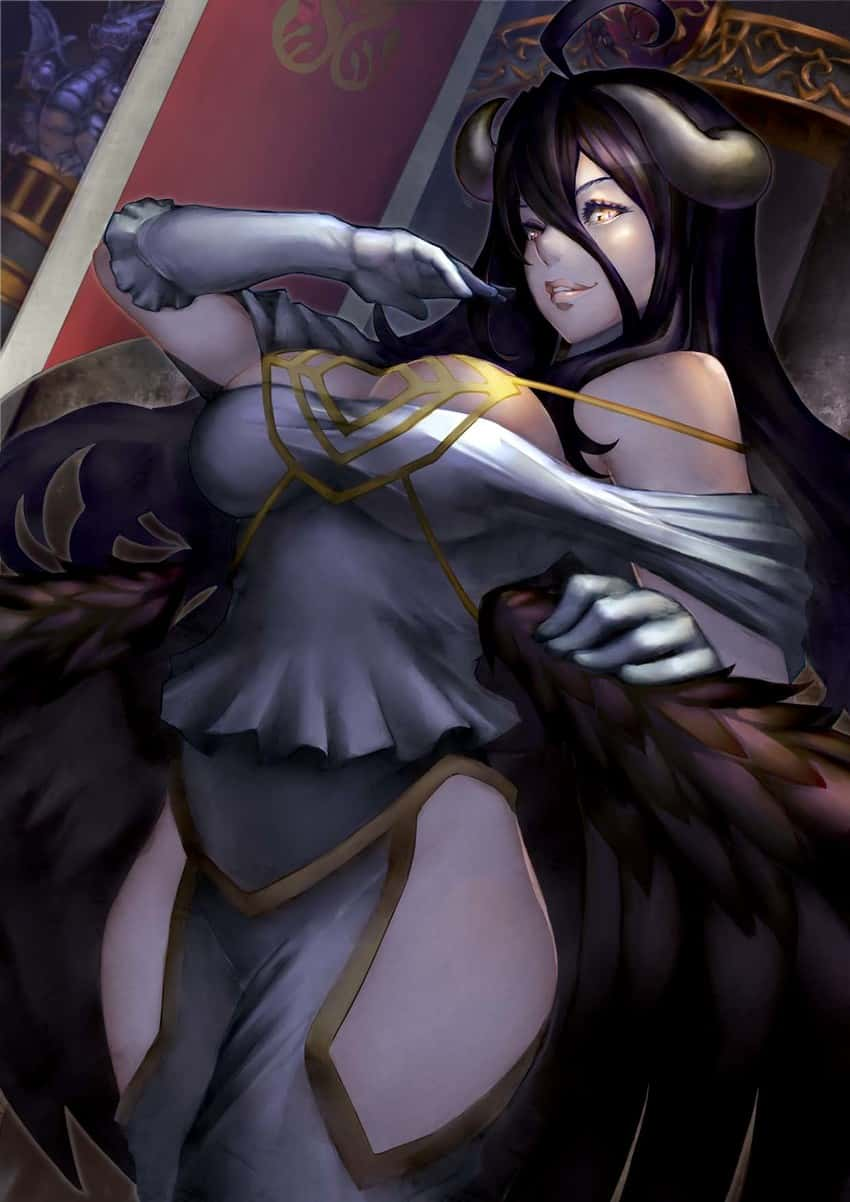 albedo overlord318 - 【オーバーロード】アルベドのエロ画像:イラスト その9