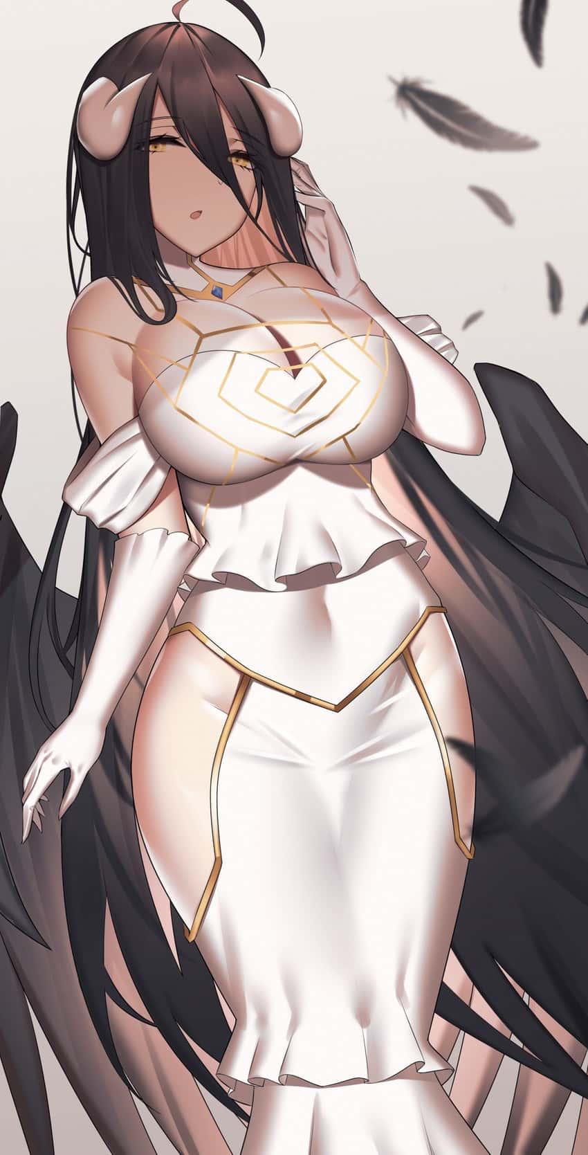albedo overlord329 - 【オーバーロード】アルベドのエロ画像:イラスト その10
