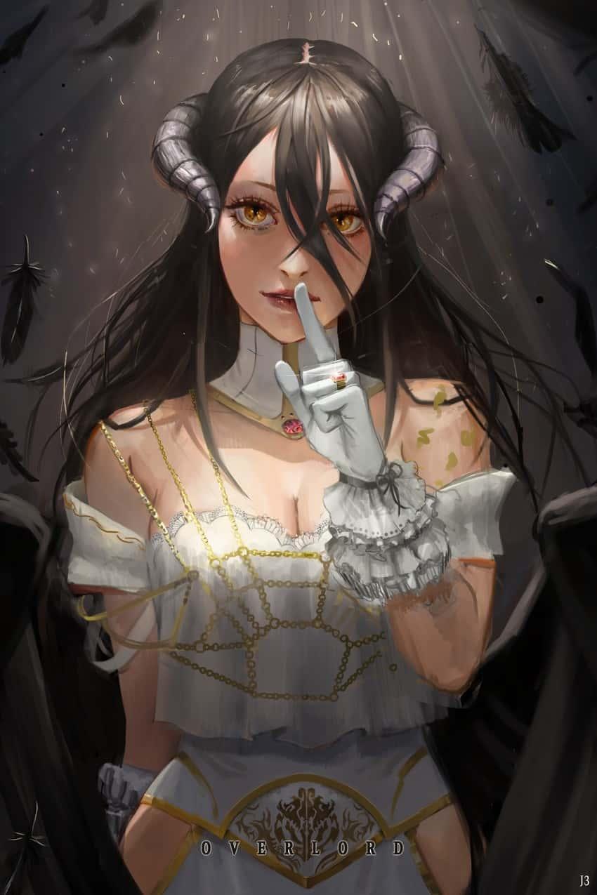 albedo overlord342 - 【オーバーロード】アルベドのエロ画像:イラスト その10