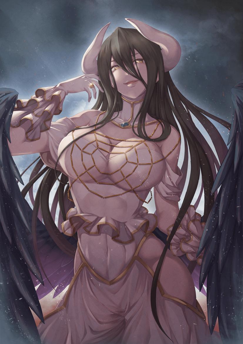 albedo overlord347 - 【オーバーロード】アルベドのエロ画像:イラスト その10