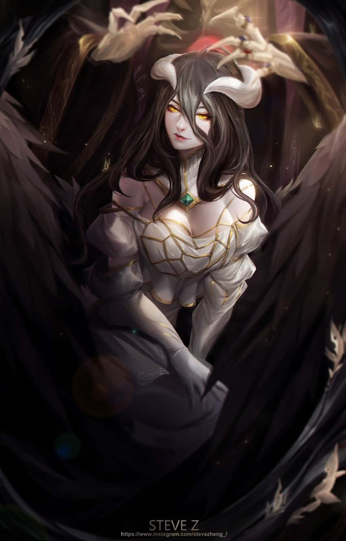 albedo overlord35 - 【オーバーロード】アルベドのエロ画像:イラスト