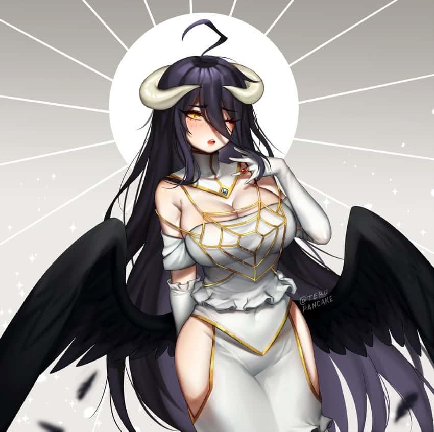 albedo overlord350 - 【オーバーロード】アルベドのエロ画像:イラスト その10